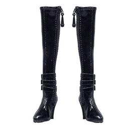 1/6 scale girls Over Knee-high Boots Shoes for 12'' TTL Ente