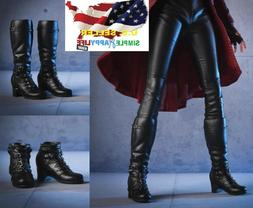 """1/6 Women Boots A for Avengers Scarlet Witch 12"""" Female Figu"""