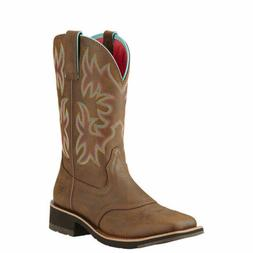 "Ariat 10018676 Delilah 10"" Wide Square Toe Western Cowgirl F"