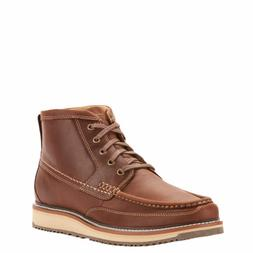 Ariat 10025144 Men Lookout Leather Lace-up Wedge Sole Foothi