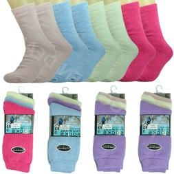 12 Pairs For Women Winter BRUSHED THERMAL Boots Cotton Wool