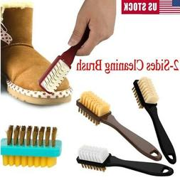 2-Sides Dry Cleaning Brush + Rubber Eraser For Suede Nubuck