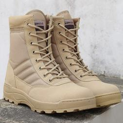 LZJ 2019 Winter New Military <font><b>Boots</b></font> Men's