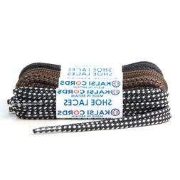 4mm ROUND SHOE LACES EXTRA STRONG DURABLE HEAVY DUTY WORK SA