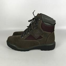 Timberland 6 inch Field Boot Waterproof Mens size 9.5 Brown/