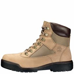 "Timberland 6"" Inch Field Boots - Men's Size 11 - Beige - A1N"