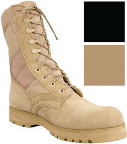 """8"""" Tactical Boots Lug Sole Sierra Military Army Type Uniform"""