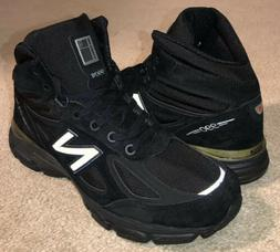 New Balance 990v4 Mid Shoes Boots Black Suede MO990BK4 NEW M
