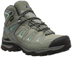 Salomon Women's X Ultra 3 Mid GTX W Hiking Boot,Shadow,8 M U