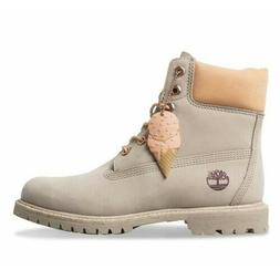 """TIMBERLAND A1W16 WOMEN'S 6"""" PREMIUM LT.TAUPE WATERPROOF LEAT"""