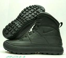 Nike ACG Woodside II 2 Triple Black Leather Waterproof Boots