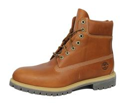 Timberland AF 6 Inch Premium Mens Boots Brown Leather Lace U