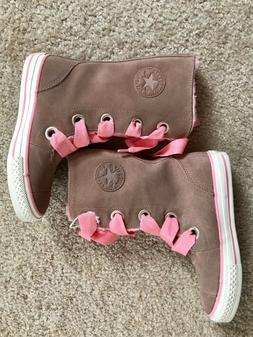 Converse Fall Suede Tall Boots for Girls size 12.5