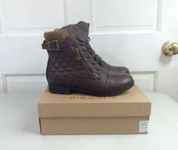 GLOBALWIN Quilted Ankle Boots Boho Women's 7 NEW