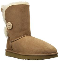 Ugg Women's Bailey Button II Chestnut Ankle-High Suede Boot