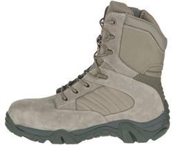 Bates Tactical Boots GX8 Side Zip Security Army Comp toe 7-1