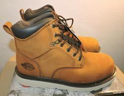 Dickies BEARCAT Brown Soft Toe Boots Work Size 10.5 US Full