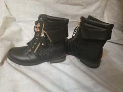 Black Forever Boots Womans Size 7