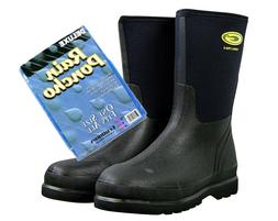 ON SALE - CLOSEOUT!!! BOB Poncho+Grub Waterproof Boots Workl