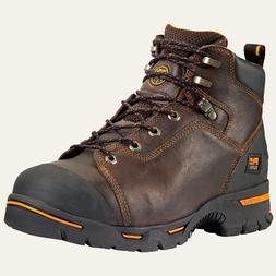 "Timberland Pro Boots 52562 Mens Endurance 6"" Steel Toe Brown"