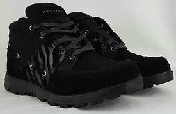 Brand New Men's Sean John Ponza Mid Boots Black Suede SIZE 9