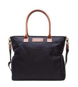 Sarah Wells Abby Breast Pump Bag with Real Leather Straps