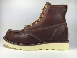 CACTUS WORK BOOTS 6070M BROWN 100% LEATHER LIGHT WEIGHT NO S