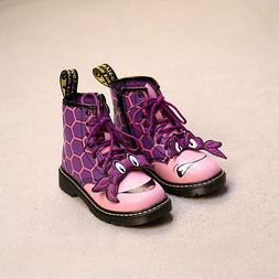 Cartoon Boots Autumn Winter For Boys Girls High Top Shoes Fa