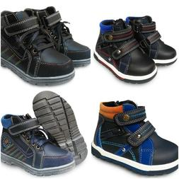 Casual Sneakers For Kids Sporty Leather Boots Toddler Shoes