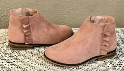 Cat & Jack Boots Size 9 Toddler Girls Ashley Pink Chelsea An