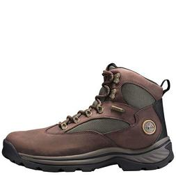 Timberland Men's Chocorua Trail Mid Waterproof, Brown/Green,