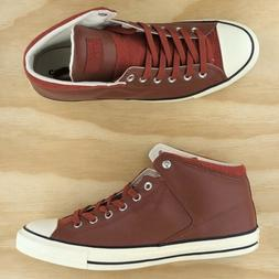 Converse Chuck Taylor All Star Street Boot Hi Top Red White