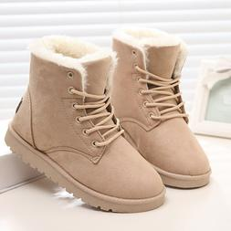 Classic Women Winter <font><b>Boots</b></font> Suede Ankle S