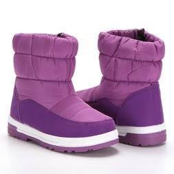 Cold Weather Snow Boots for Boy Girl Winter Outdoor Waterpro