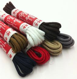 Dress Shoe Thin Round Laces Shoelaces Boot Strings Colored S