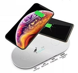 IBIS Wireless Dual Wireless Charger Fast Charging Station 3