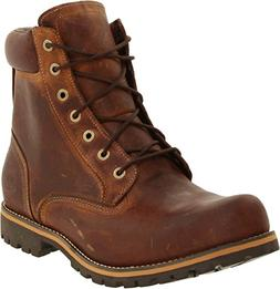 Timberland Men's Earthkeepers Rugged Boot, Red Brown, 11 M U