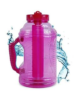 Cool Gear 75 oz EZ Freeze Water Bottle w/Handle Straw and Ic