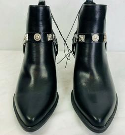 """Forever 21 Fashion Boots Women's Size 9 Black 2.5"""" Heel NEW"""