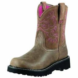 Ariat Fatbaby Western  Boots - Brown - Womens