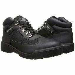 TIMBERLAND FIELD BOOT Black Mens Size 10M Ankle Boots WATERP