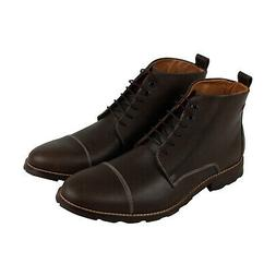Hush Puppies Gage Parkview Ice+ Mens Brown Leather Casual Dr