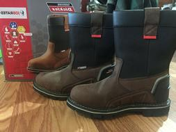Genuine Dickies Jobrated Steel Toe Traxxion Work Boots Size