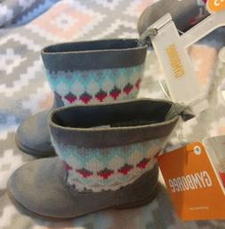 Gymboree girls ice dancer toddler boots size 5 nwt