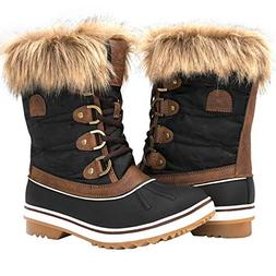 Globalwin Women's 1838 Brown Winter Snow Boots 9M