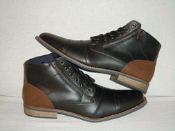 GLOBALWIN Synthetic Leather Cap Toe Fashion Ankle Boots  MEN