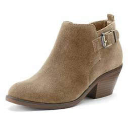 SONOMA Goods for Life™ Giana Women's Suede Ankle Boots,Tau