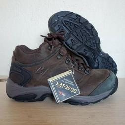 67b55beed0 New Balance Gore-Tex Brown Leather Work Hiking Boots Mens Si