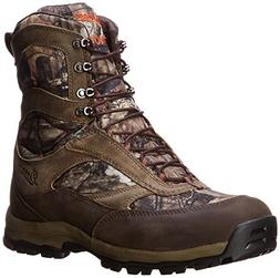 Danner Men's High Ground 8 Mossy Oak 400G Hiking Boot,Brown/