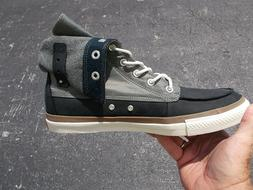 Converse High Boot Roll Down Leather 135243C Original Classi